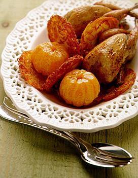 amours de cailles aux mandarines pour 4 personnes recettes 224 table 224 table