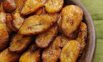 bananes plantain frites pour 4 personnes - recettes elle à table