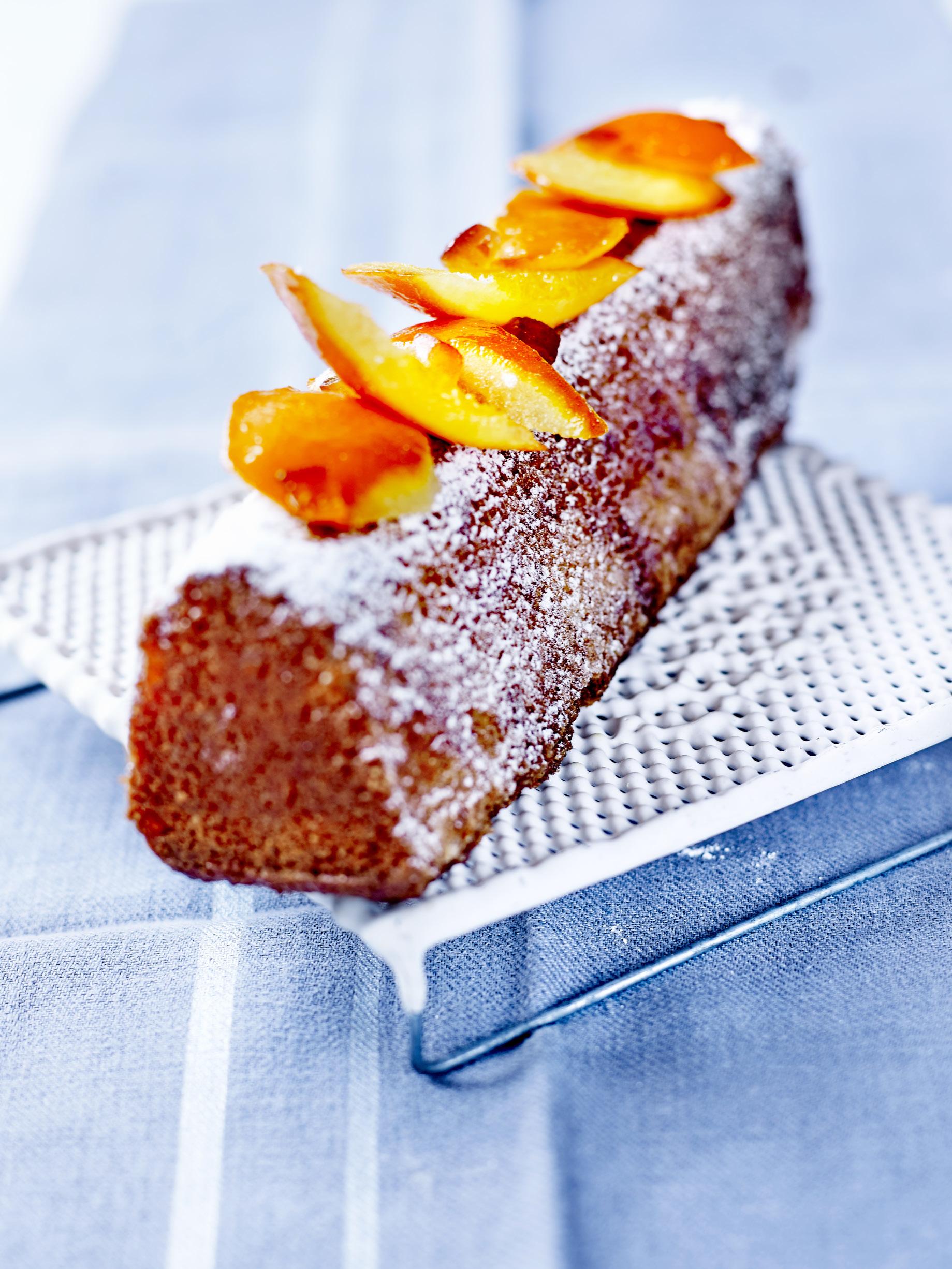 Recette Cake A L Orange Confite