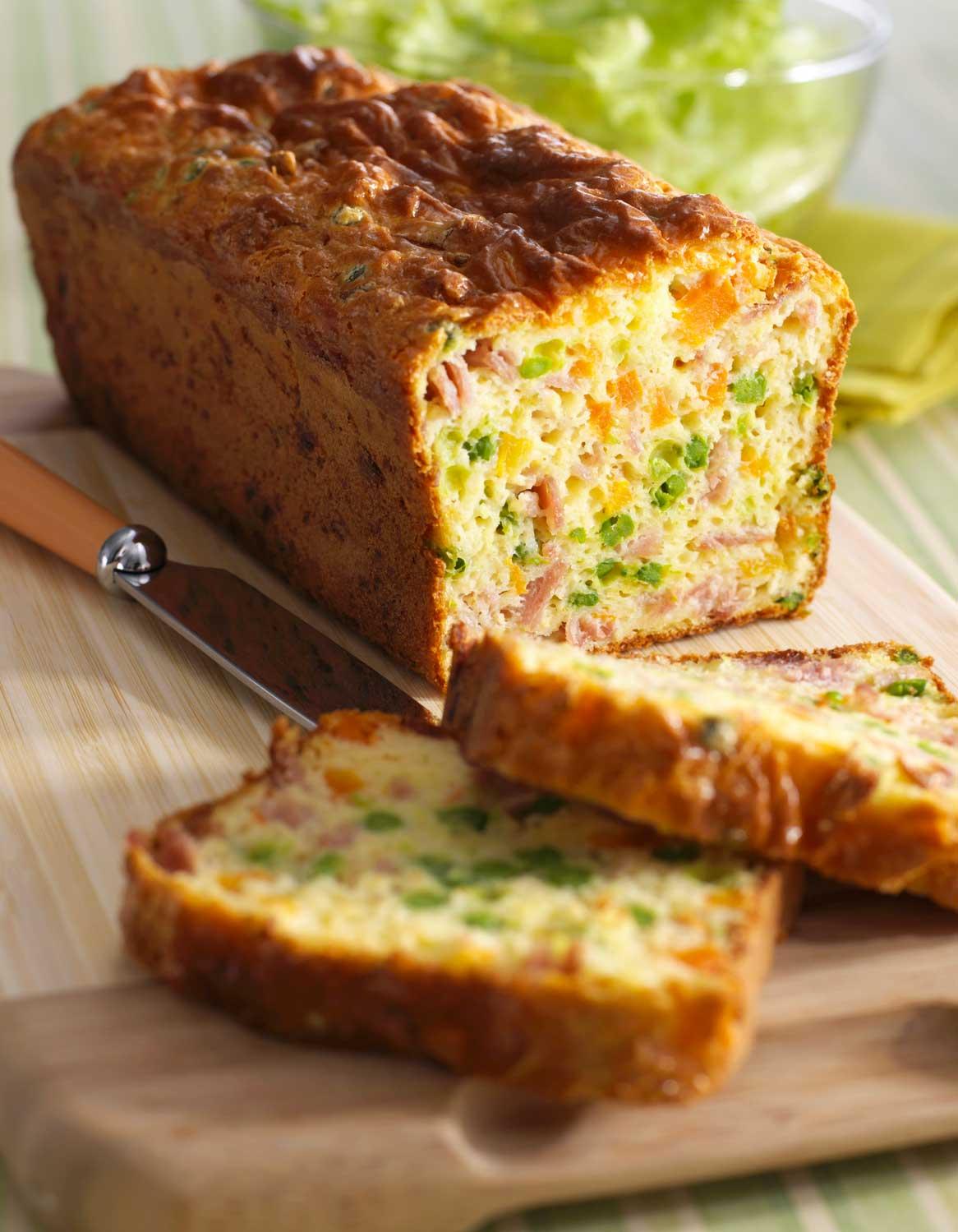 Cake Au Jambon Thermomix Pour 4 Personnes Recettes Elle A Table