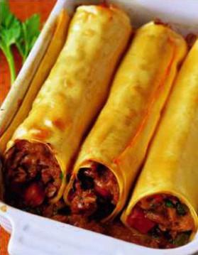 Cannellonis de jarret de veau pour 4 personnes recettes - Cuisiner jarret de veau ...