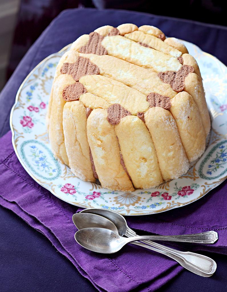 Recette Charlotte Au Chocolat Sans Oeuf charlotte au chocolat d'hélène darroze