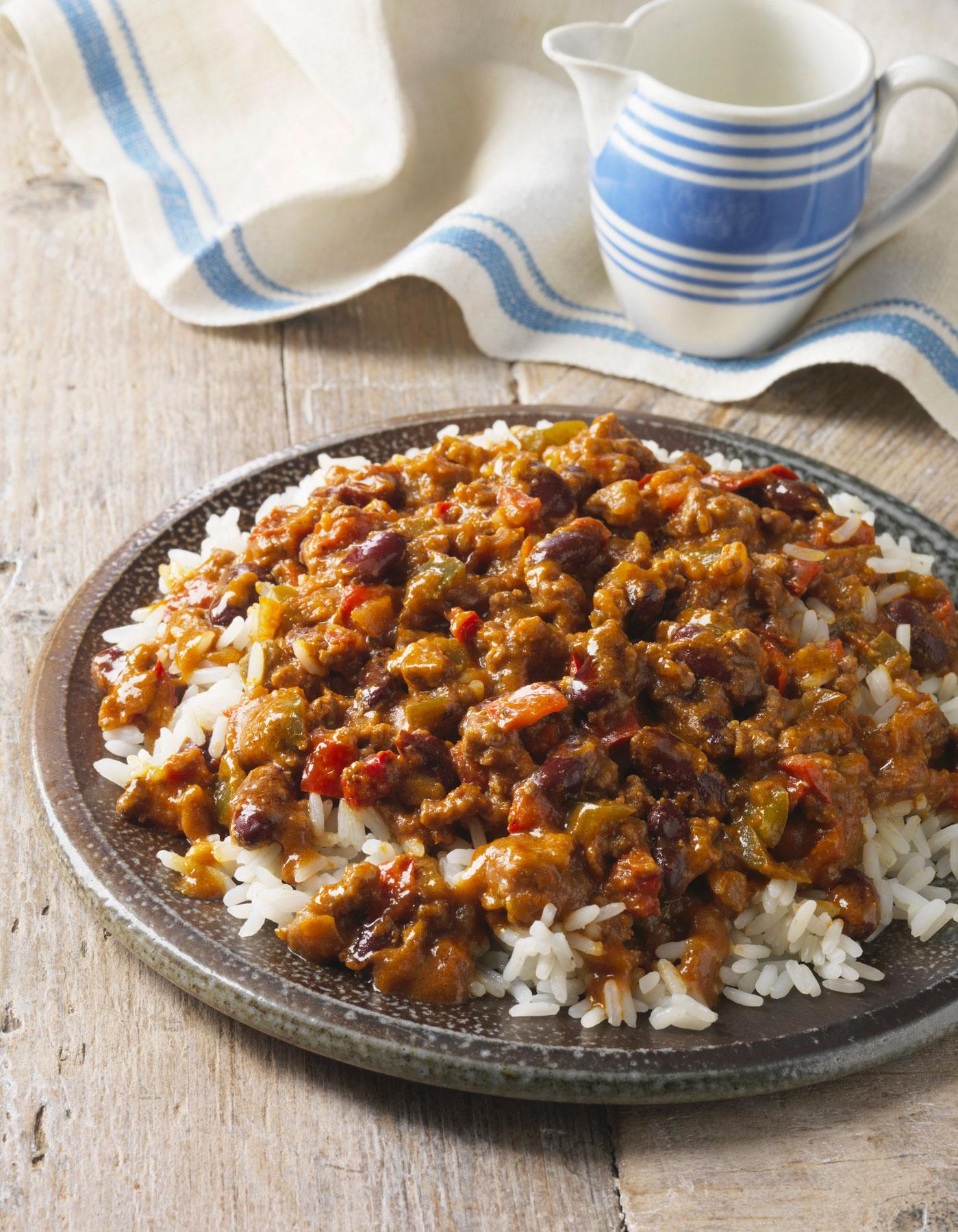 Chili con carne thermomix pour 6 personnes recettes elle table - Repas thermomix pour 10 personnes ...