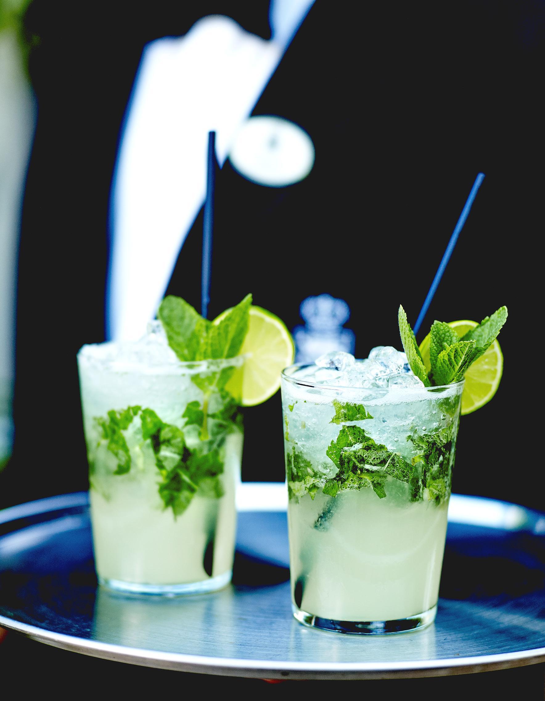Cocktail Mojito Vodka Pour 1 Personne Recettes Elle A Table