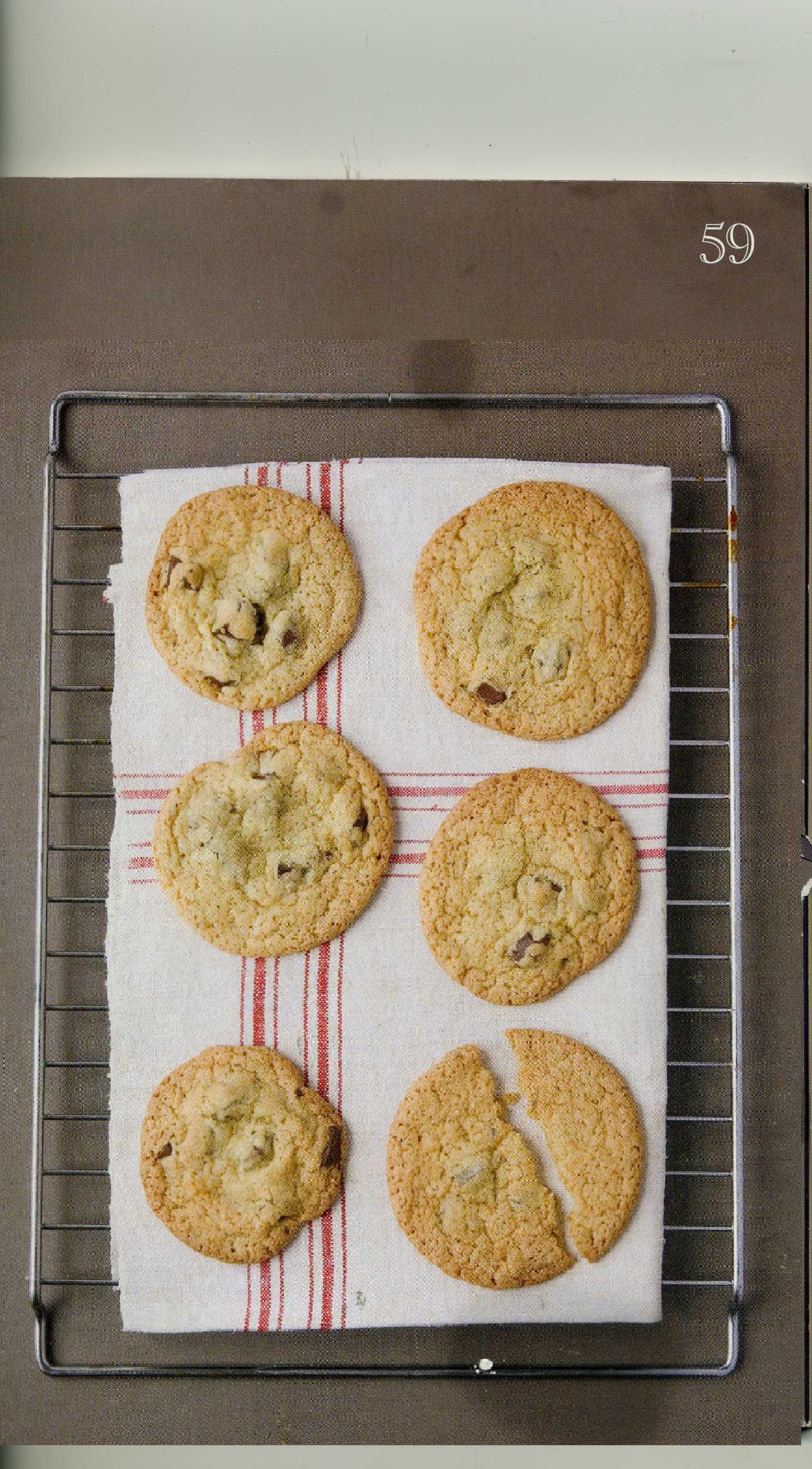 Cookies pour 6 personnes - Recettes Elle à Table