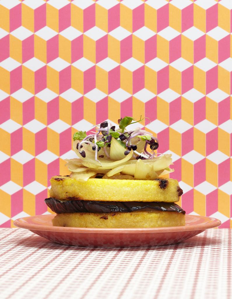 Crepes De Polenta Aux Oignons Pour 6 Personnes Recettes Elle A Table