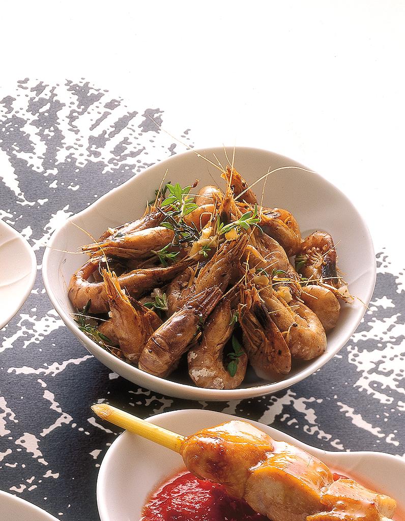 Crevettes Grises Sautees Pour 4 Personnes Recettes Elle A Table