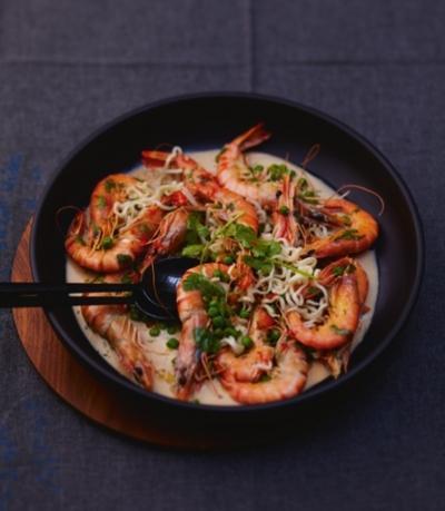 Crevettes un peu thaïes pour 6 personnes - Recettes Elle à
