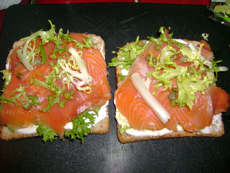 Croques la norv gienne pour 4 personnes recettes elle table - Arte cuisine des terroirs recettes ...