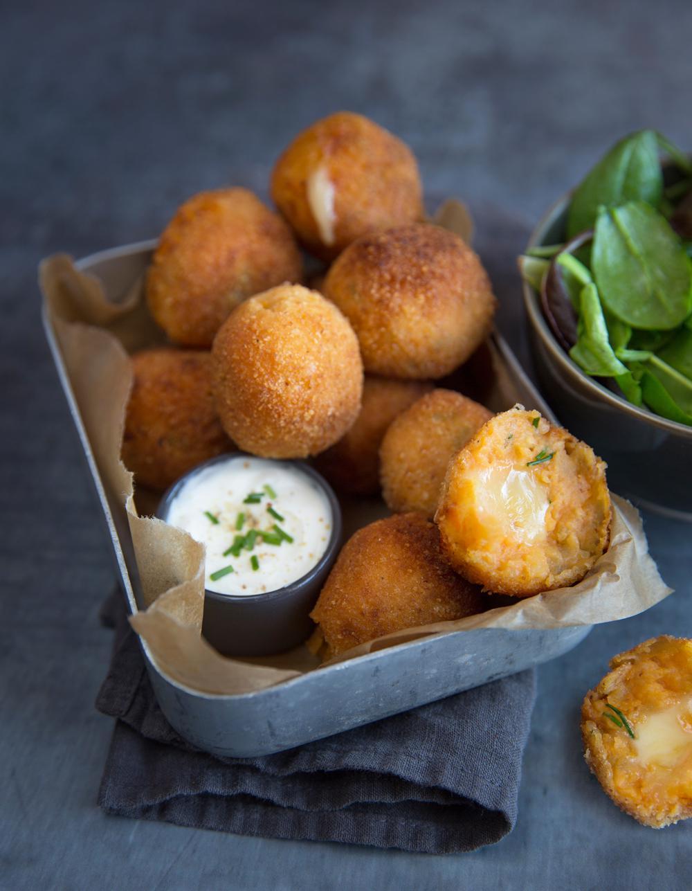 Croquettes De Patate Douce à La Raclette Pour Personnes - Cuisiner les patates douces