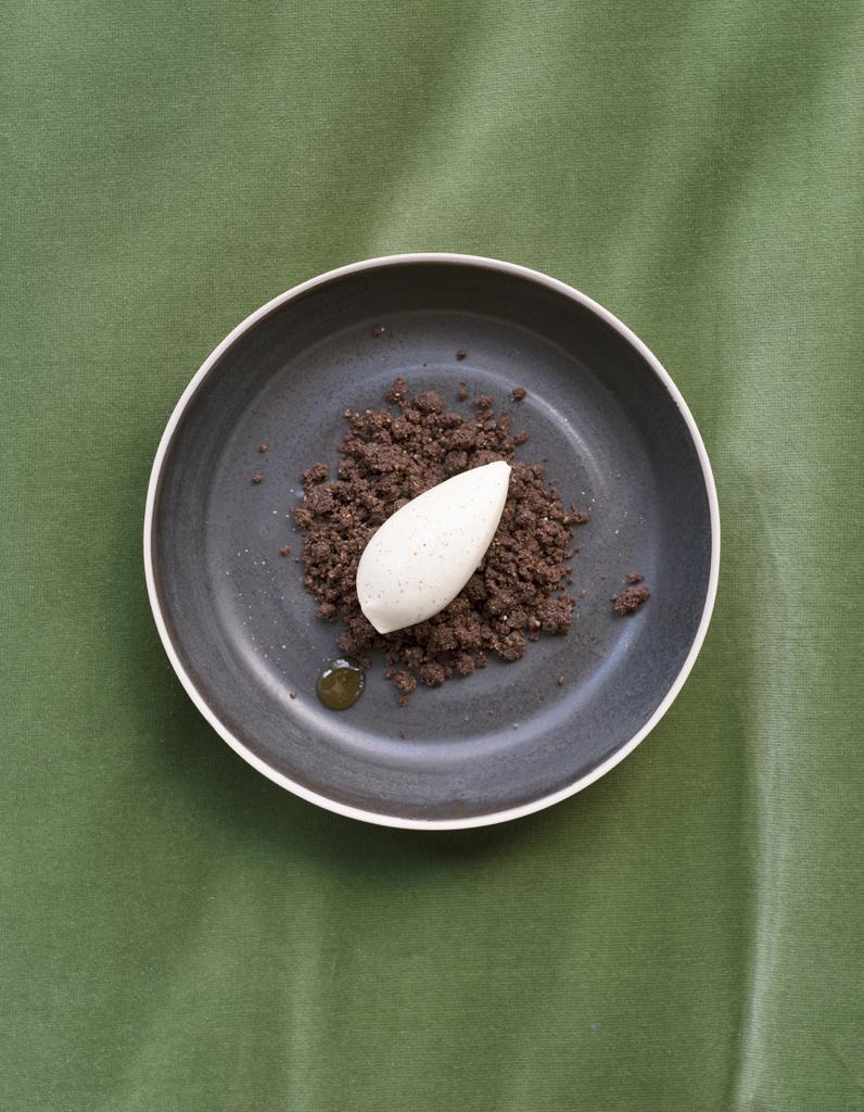 Maison Et Chocolat Uriage Les Bains crumble chocolat, glace antésite