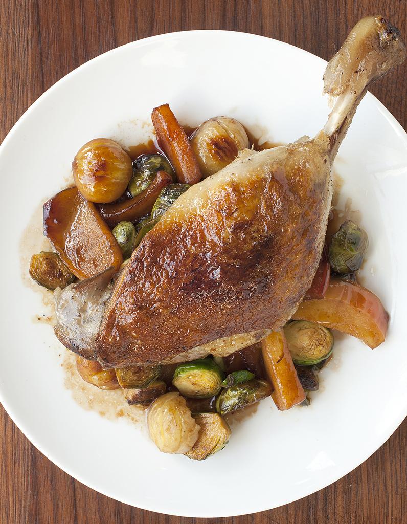 recette cuisse de canard noel