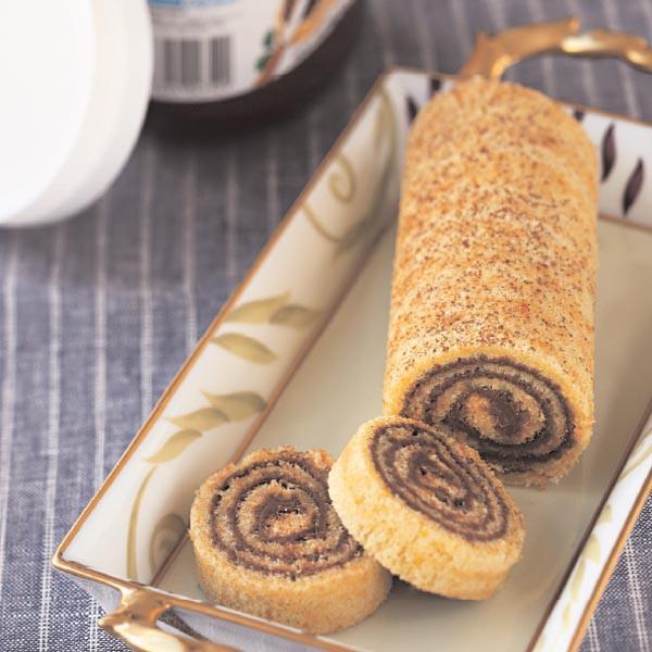 G teau roul l 39 orange et au nutella pour 6 personnes recettes elle table elle table - Recette gateau au nutella ...