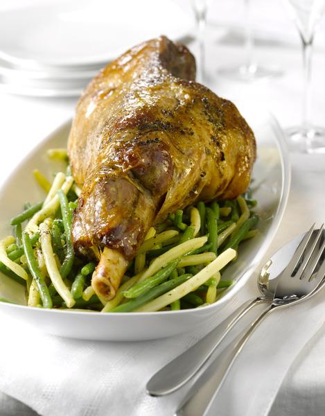 Gigot d 39 agneau persill recettes elle table - Cuisiner les restes de gigot d agneau ...