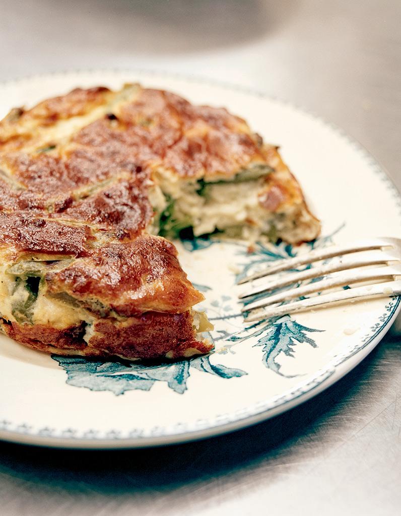 Gratin de haricots verts l ancienne ou sformati pour 4 personnes recettes elle table - Recette cuisine ancienne ...