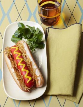 hot dog pour 4 personnes recettes elle table elle table. Black Bedroom Furniture Sets. Home Design Ideas