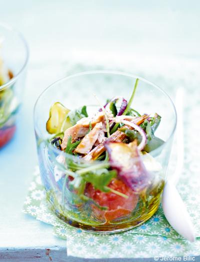 L gumes grill s et thon frais pour 6 personnes recettes elle table - Recette legumes grilles au four ...