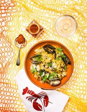 paella madrid mix pour 4 personnes recettes elle table elle table. Black Bedroom Furniture Sets. Home Design Ideas