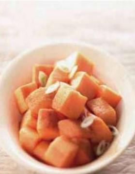 Patates douces sautées aux épices