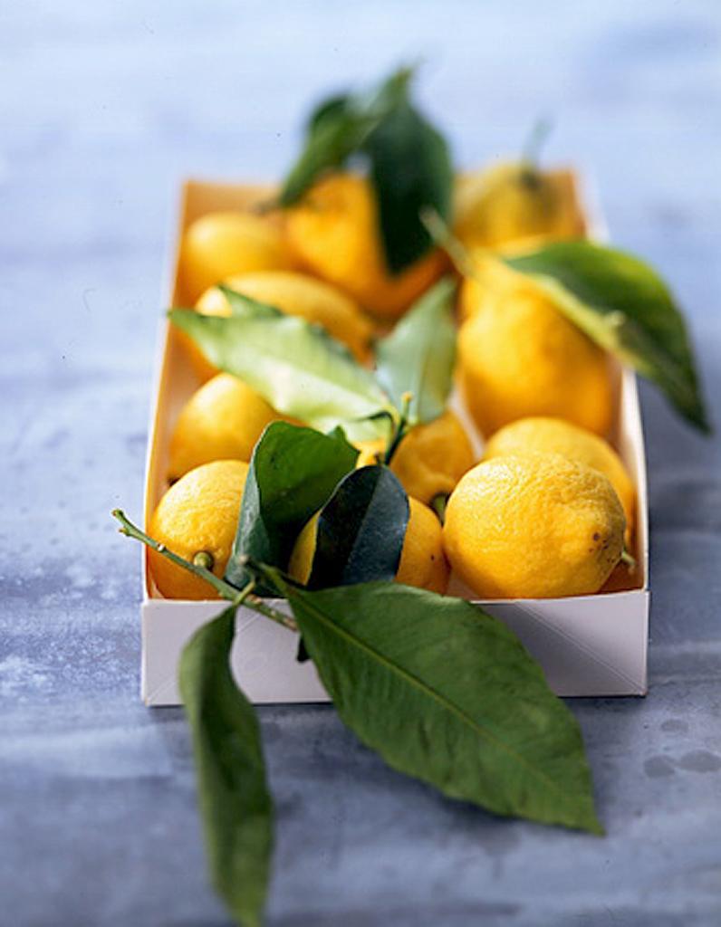 Pate De Fruit Au Citron Recettes Elle A Table