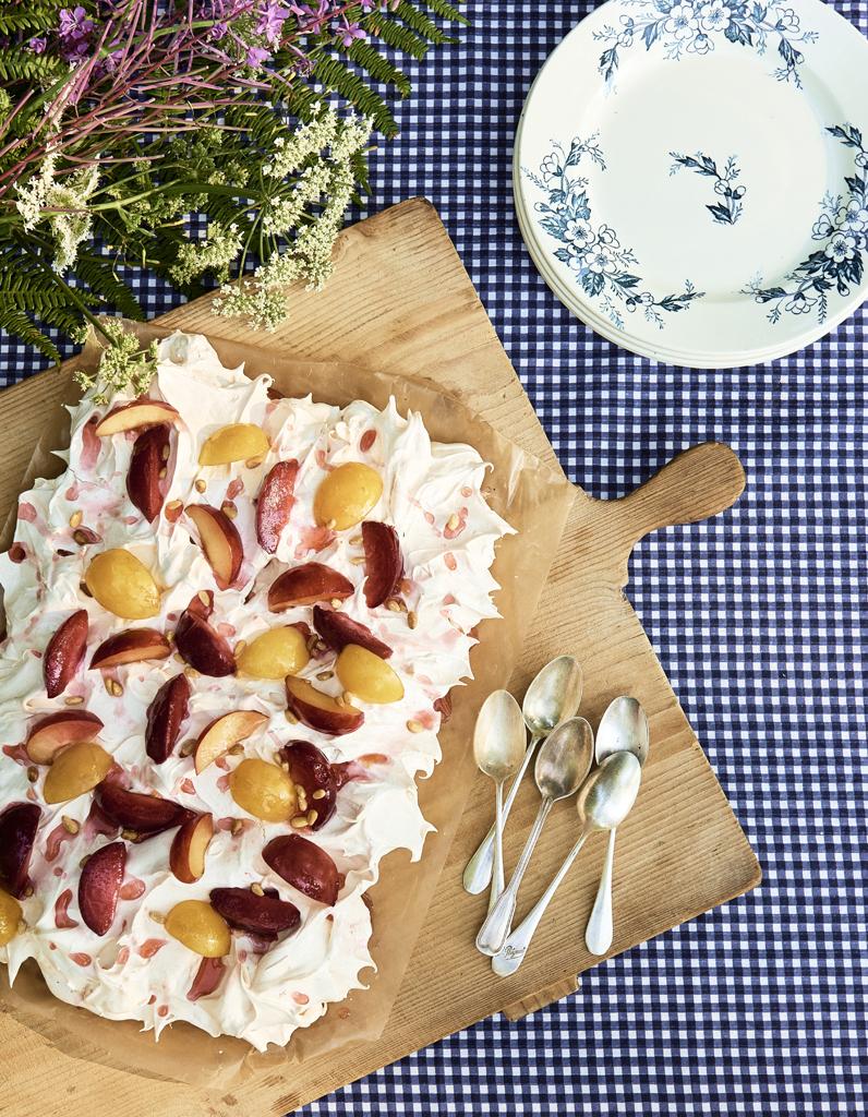 Pavlova aux prunes pices et porto pour 8 personnes recettes elle table - Sucre d orge et pain d epice ...