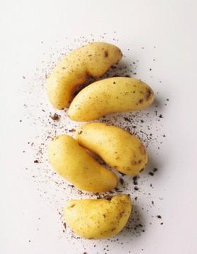 Pommes de terre farcies au saumon fumé