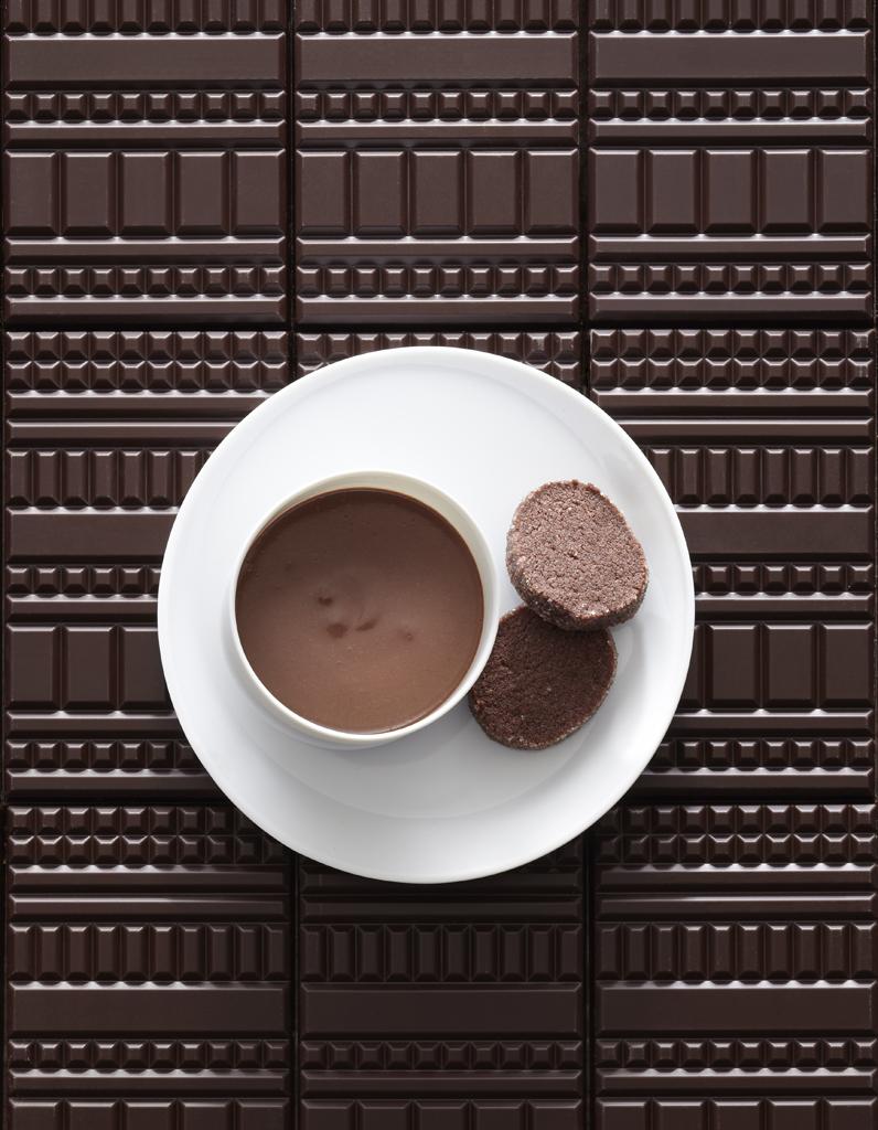 Pots de cr me chocolat sabl s diamant pour 5 personnes recettes elle table - Cuisine des sables voiron ...