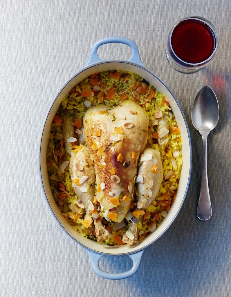 poulet au riz safran233 pour 6 personnes recettes elle 224 table