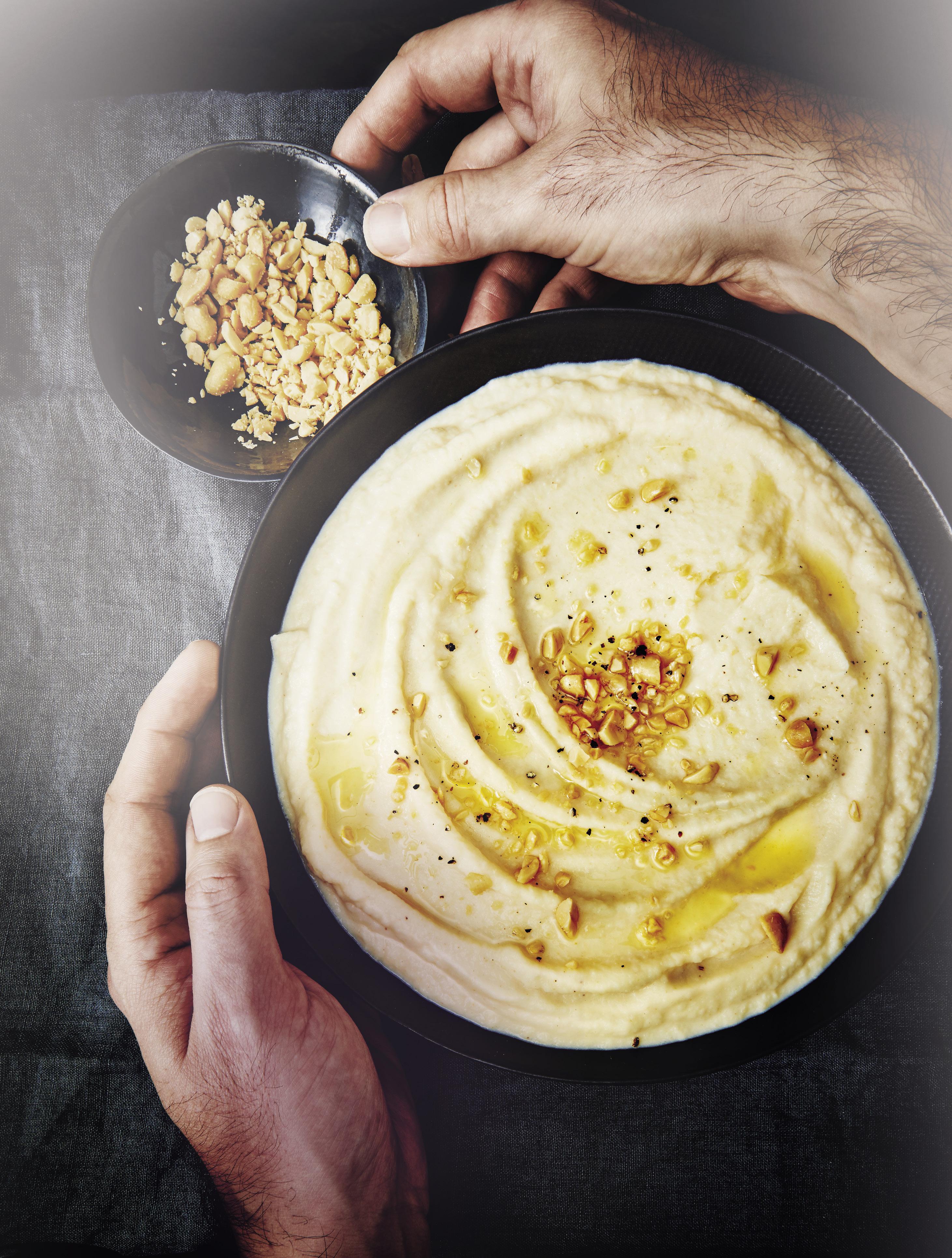Purée De Célerirave Aux Cacahuètes Pour Personnes Recettes Elle - Cuisiner celeri rave