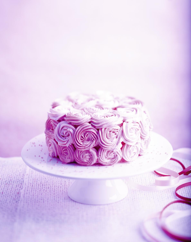 Rose Cake Pour 6 Personnes Recettes Elle A Table
