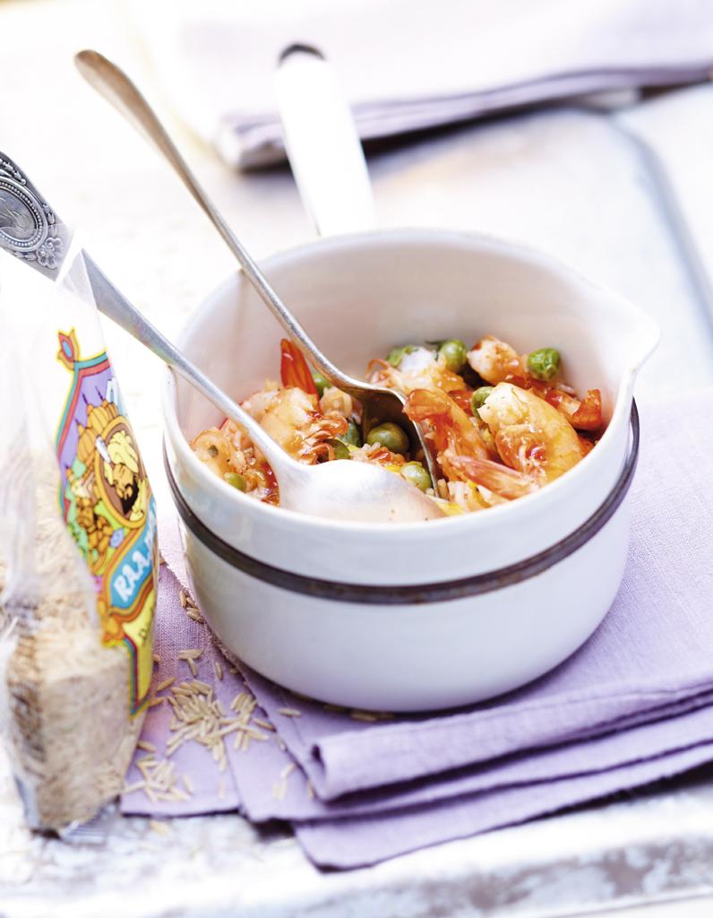 Riz cantonais aux crevettes pour 6 personnes recettes - Poudre de riz cuisine ...