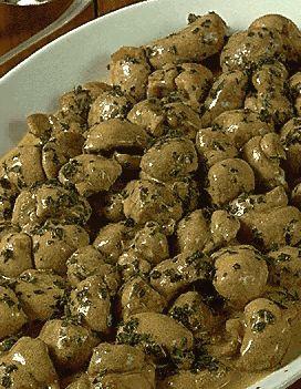 Rognons de veau beaujolaise pour 4 personnes recettes - Cuisiner rognons de veau ...