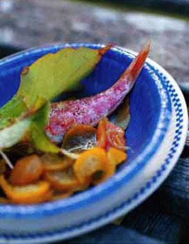 rougets grill s chutney de courgettes jaunes et melon pour 6 personnes recettes elle table. Black Bedroom Furniture Sets. Home Design Ideas