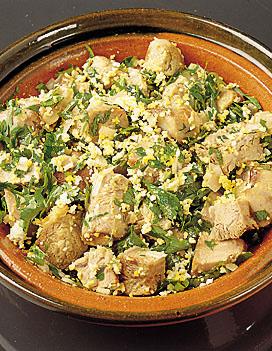 Salade au jarret de veau pour 4 personnes recettes elle - Jarret de veau au four ...
