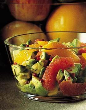 Résultat d'images pour salade d'avocat aux agrumes