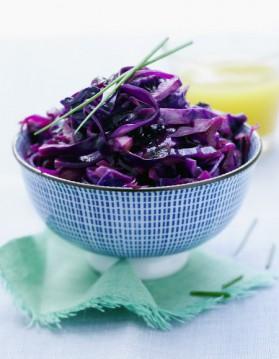 Salade de chou rouge