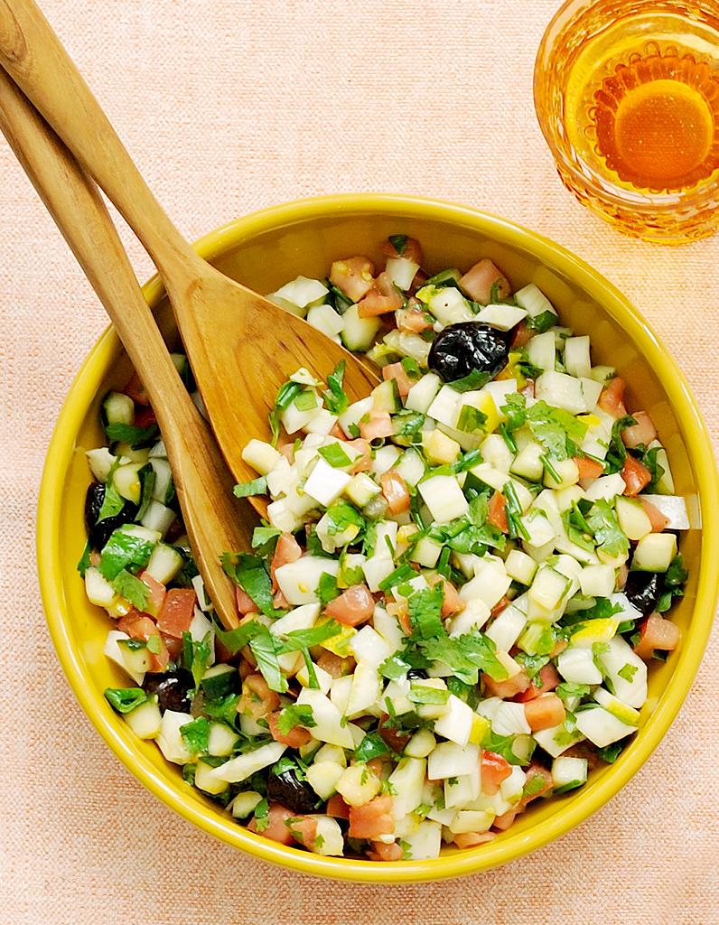 Salade marocaine pour 4 personnes recettes elle table - Cuisine thailandaise recette ...