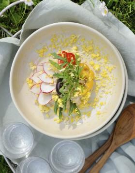 Salade niçoise par Virginie Basselot