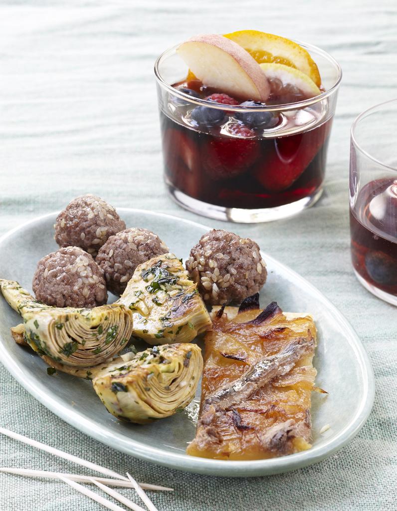 Sangria espagnole et tapas pour 6 personnes recettes - Cuisine espagnole tapas ...