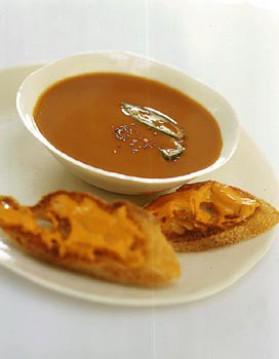 soupe de poissons comme marseille pour 4 personnes recettes elle table elle table. Black Bedroom Furniture Sets. Home Design Ideas
