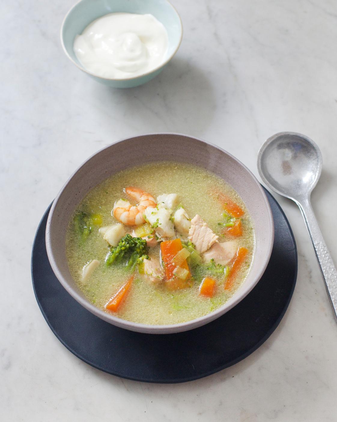 Soupe De Poissons Islandaise Pour 4 Personnes Recettes Elle A Table