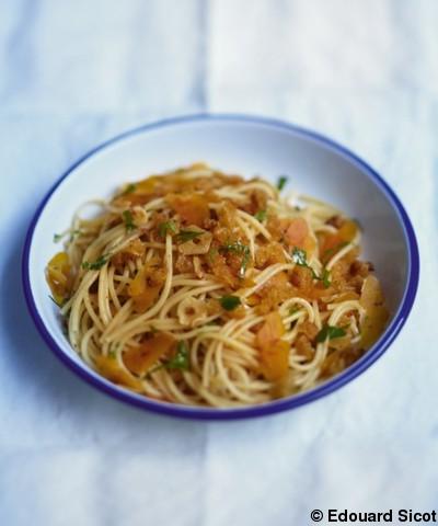 Spaghettis 224 La Boutargue Pour 4 Personnes Recettes Elle