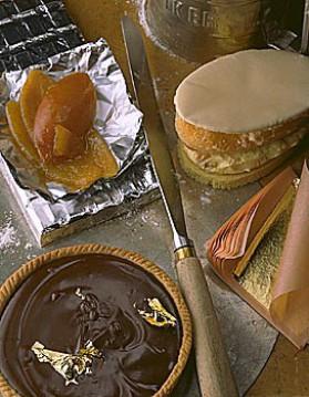 tarte au chocolat pour 4 personnes recettes elle table elle table. Black Bedroom Furniture Sets. Home Design Ideas