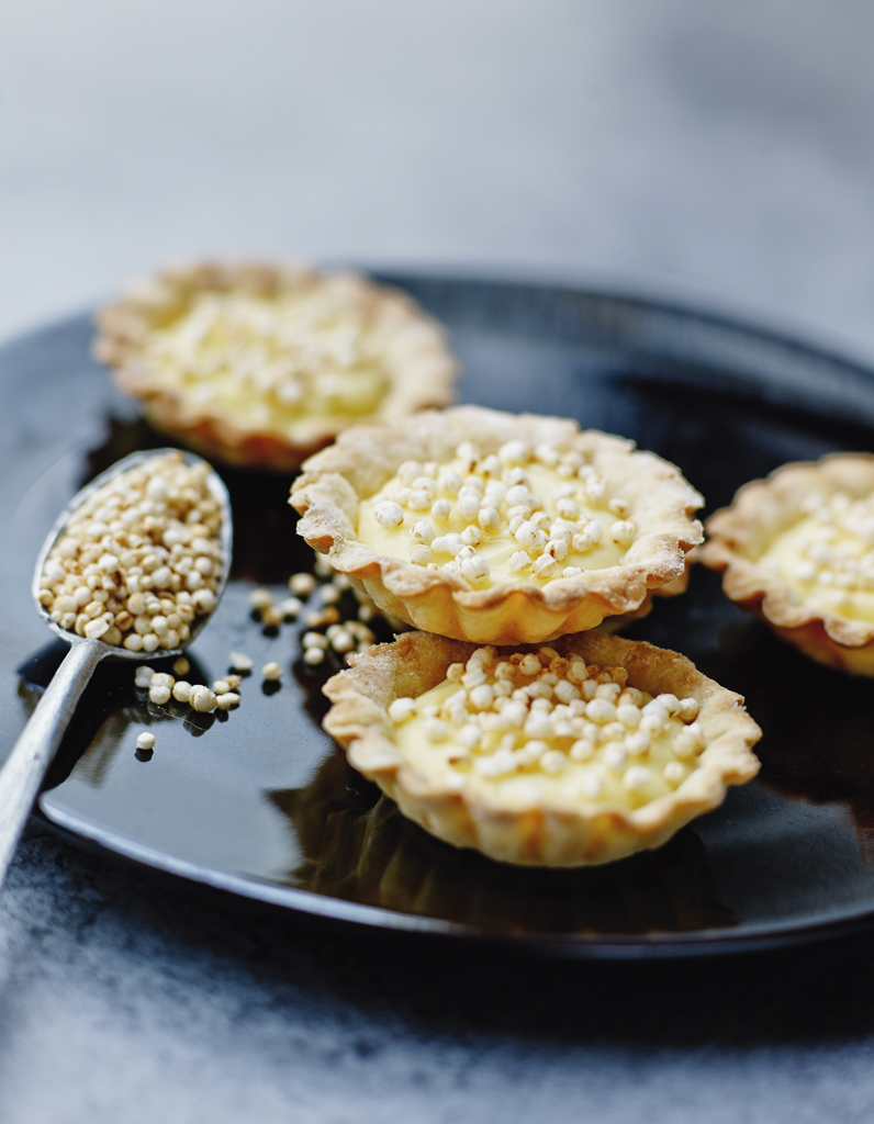 Tartelettes Au Citron Billes De Quinoa Souffle Pour 4 Personnes