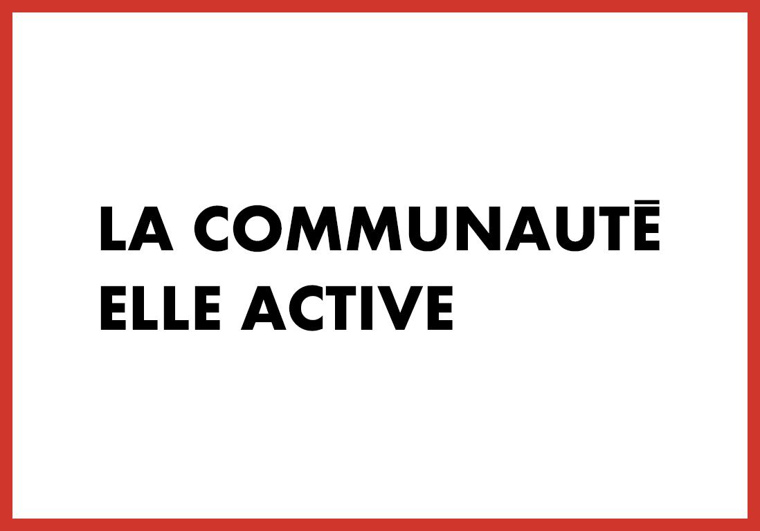 La communauté ELLE Active