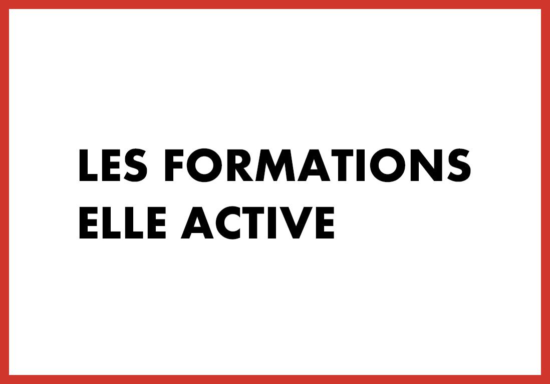 Les formations ELLE Active