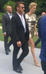 Charlize Theron et Sean Penn au défilé Dior Couture