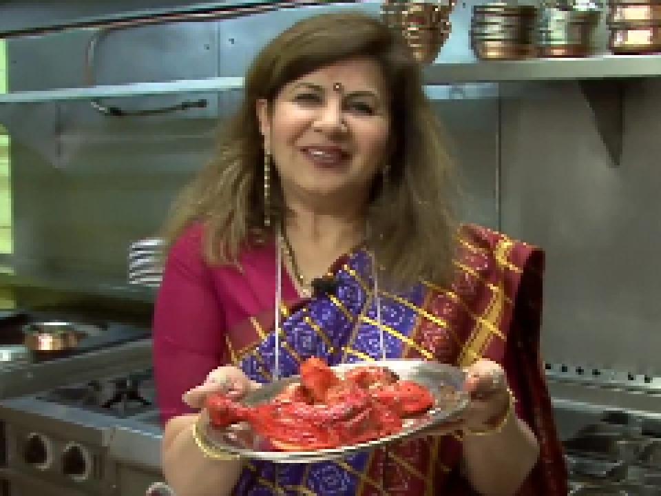 Cuisine Indienne Préparer Un Poulet Tandoori ELLE Vidéos - Cuisine indienne poulet tandoori