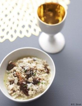 Risotto de crozets aux morilles s ch es pour 4 personnes - Cuisiner les morilles sechees ...