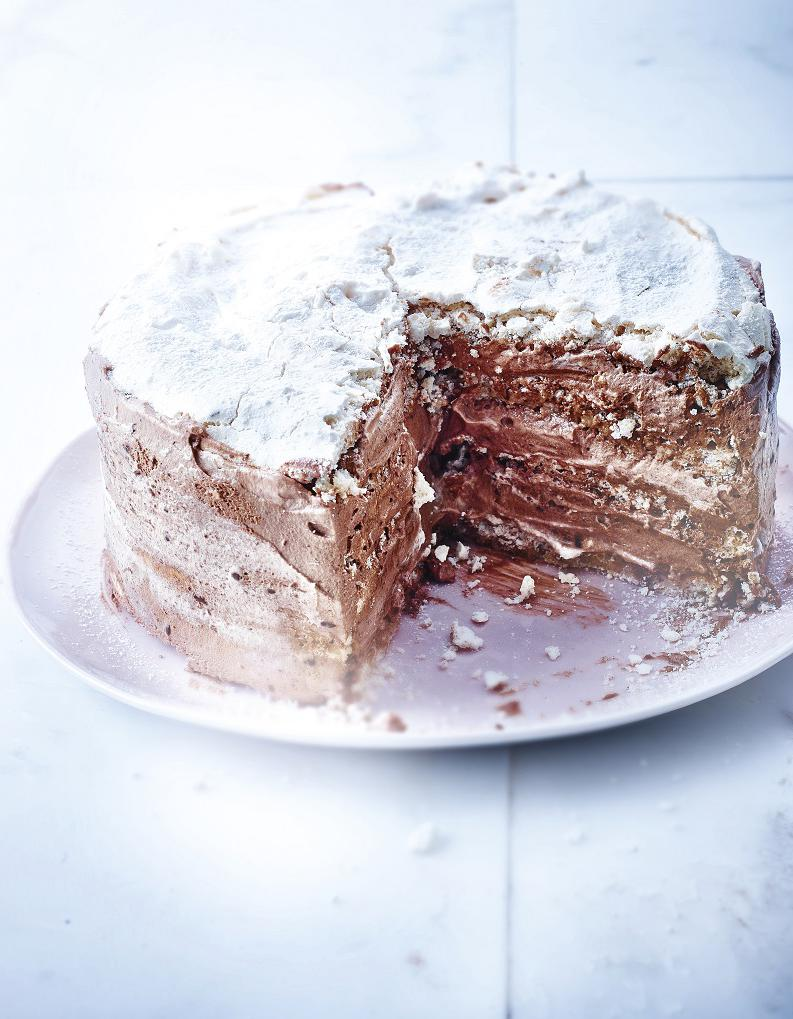 Gateau noel meringue